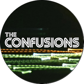 THE CONFUSIONS - Badge (somewhat bigger)
