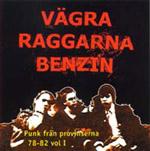 SamlingsCD - VÄGRA RAGGARNA BENZIN Vol 1 - Punk från provinserna 78-82