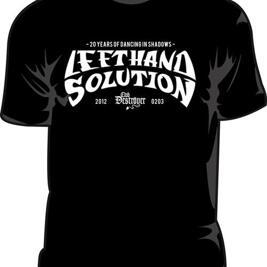 LEFT HAND SOLUTION - 20 års jubileums T-shirt